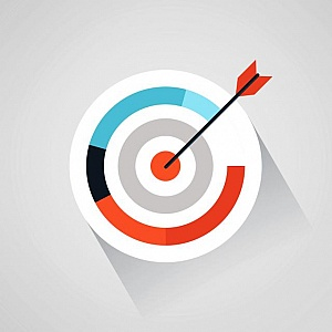 Targeting-your-audience--arrow-and-target